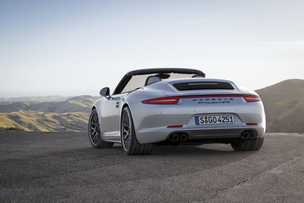 2015 Porsche 911 Carrera 4 GTS Cabriolet 991 wallpaper 3600x2400 1050x700