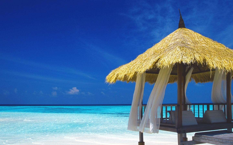 free caribbean beach wallpaper   Quotekocom 1440x900