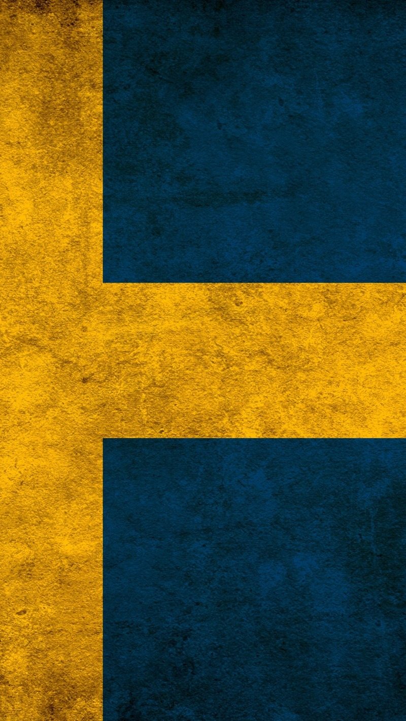 Download wallpaper 800x1420 sweden colors flag iphone se5s5c5 800x1420