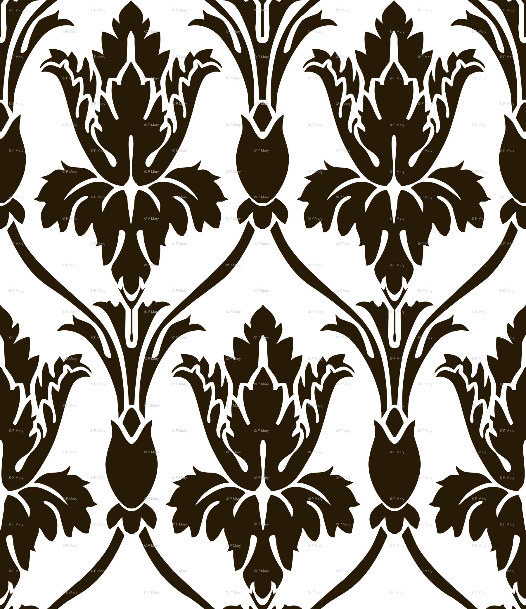 Sherlock Wallpaper Pattern Stencil Sherlock wallp