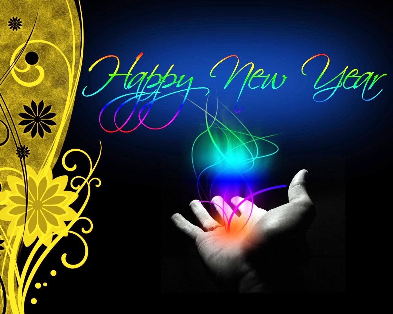 Happy New Year 2018 Greeting Download Hd Desktop Wallpapers 1280x1024