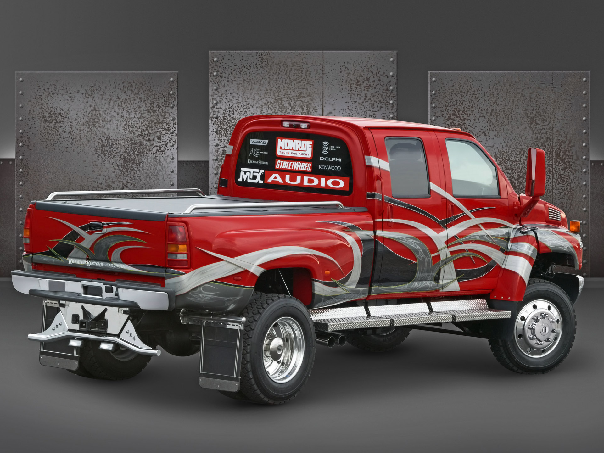 2005 Chevrolet C4500 Medium Duty Truck at SEMA   Rear Angle 1920x1440
