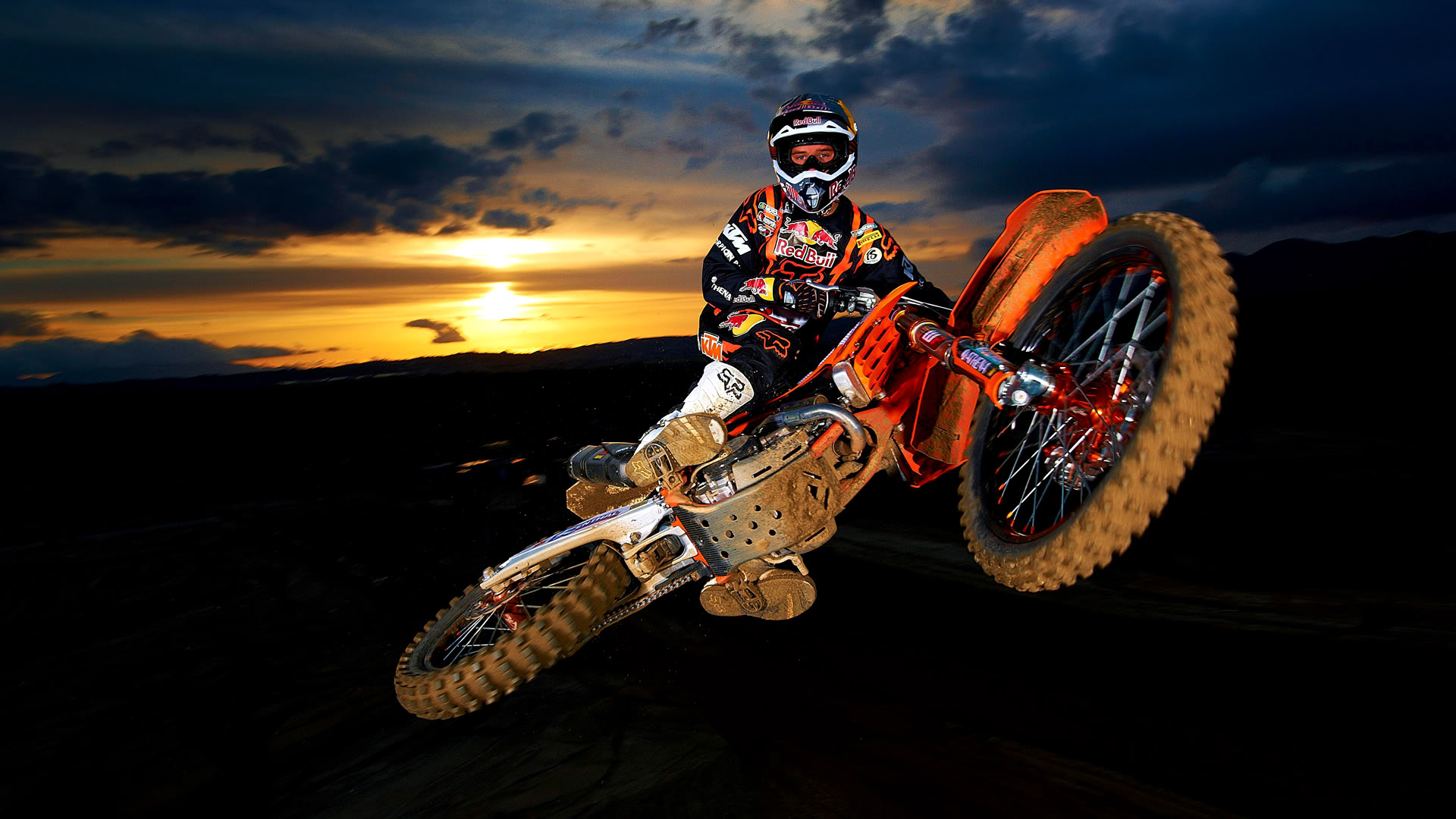 Afternoon Motocross Style HD Wallpapers 1920x1080