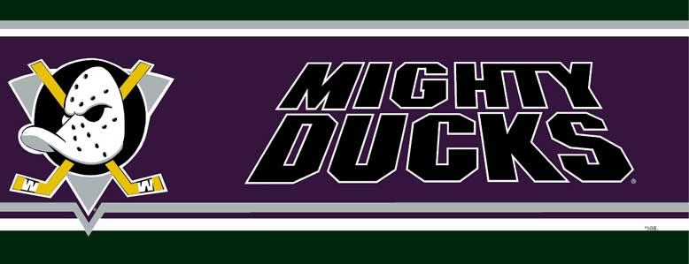 Anaheim Mighty Ducks Wallpaper Border 778x299