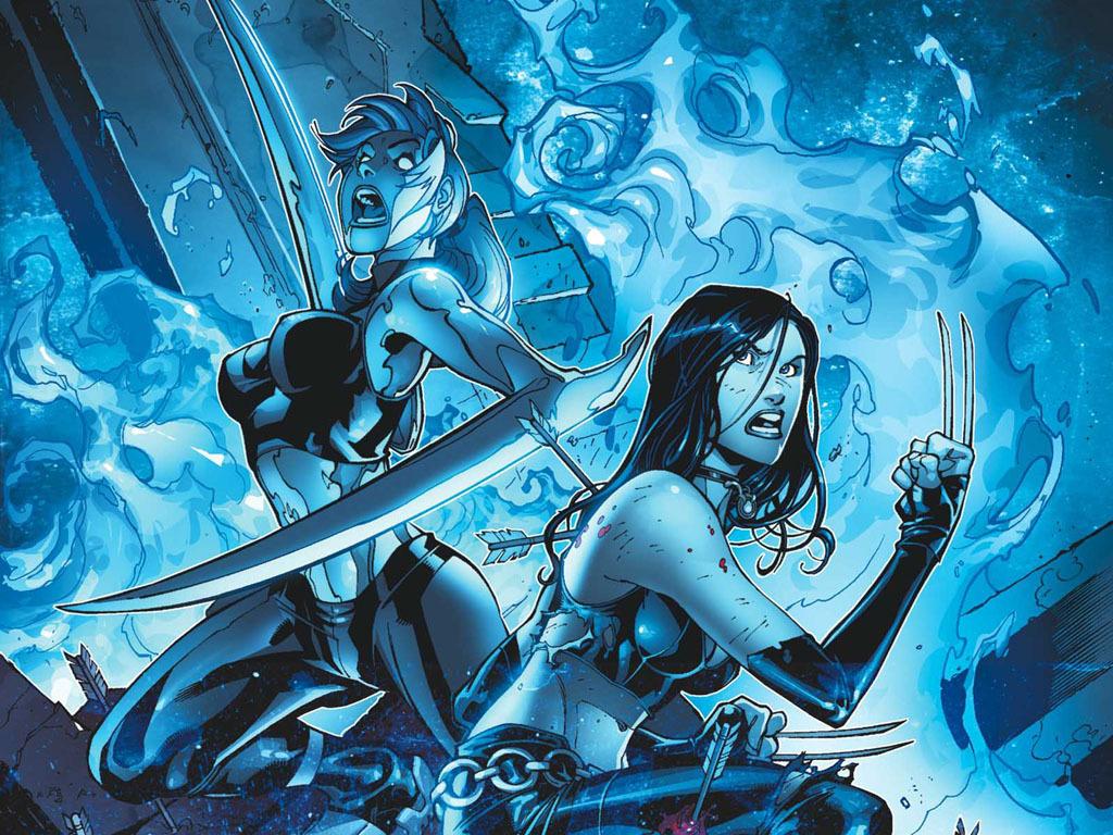 Mercury X 23   Comic Books Wallpaper 21310670 1024x768