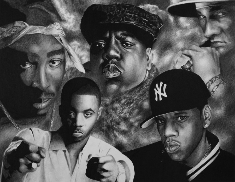Greatest Rappers Of All Time Wallpaper 5 greatest rappers by 900x696