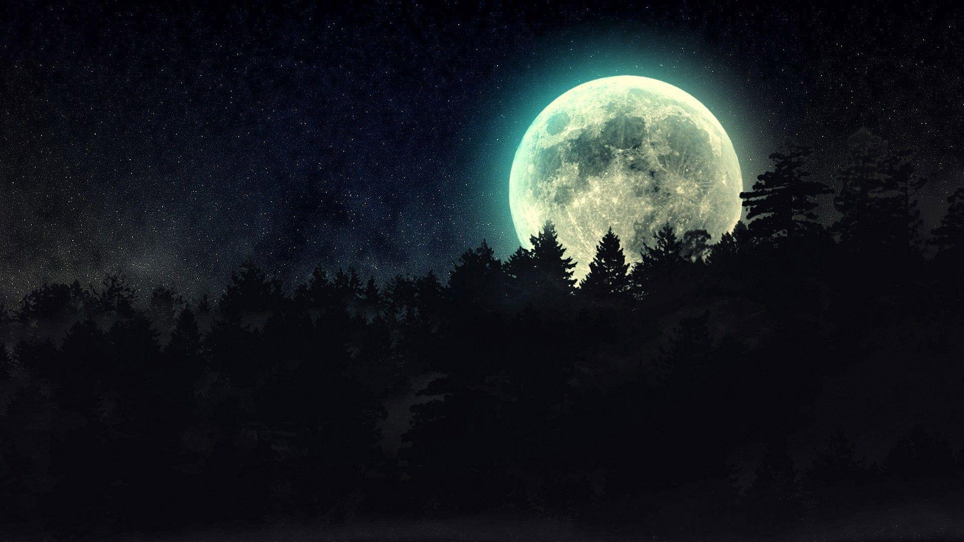 Full Moon Wallpapers   Top Full Moon Backgrounds 1920x1080