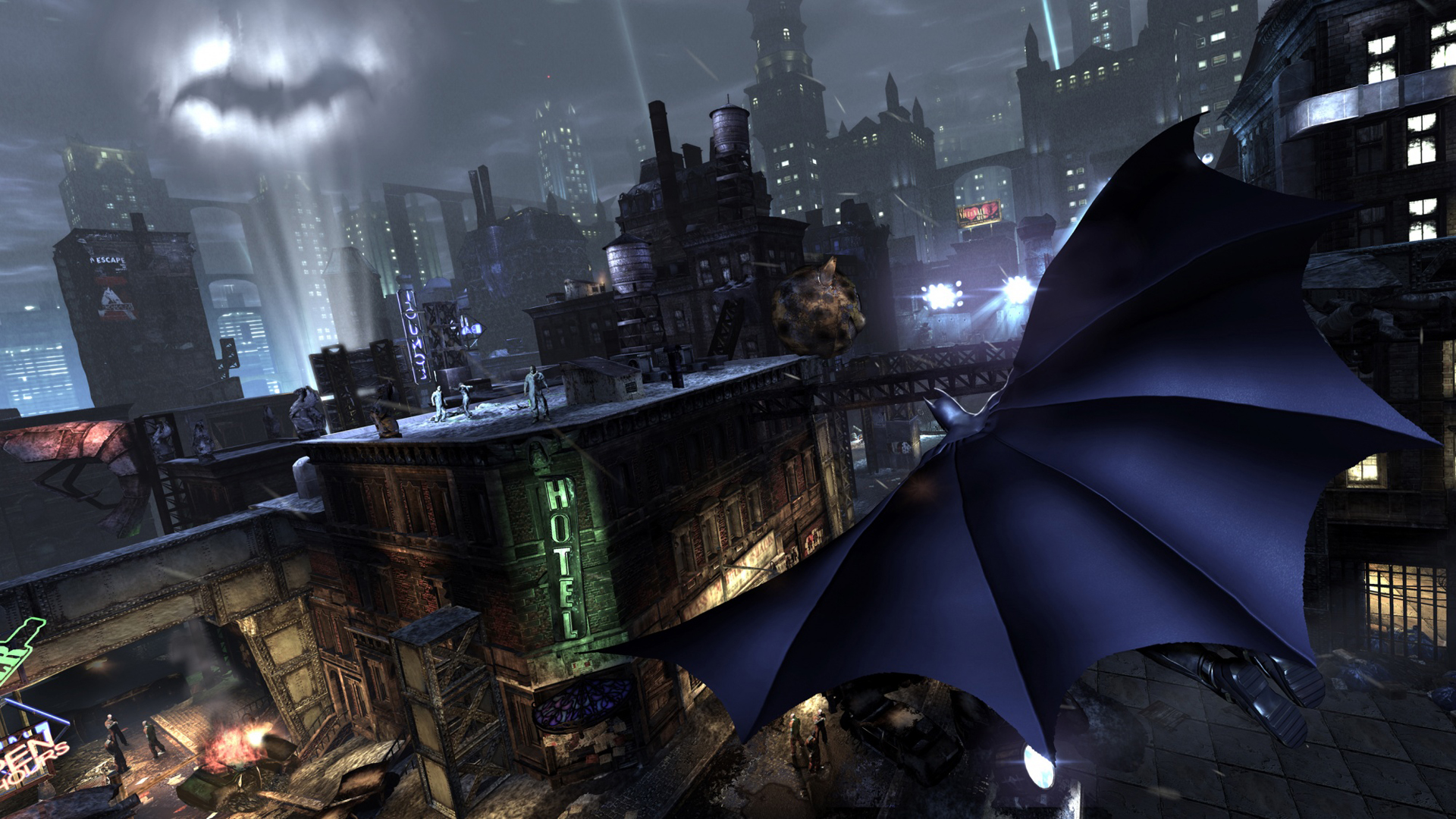 Batman Arkham City Wallpapers 1920x1080 City wallpapers arkham 1920x1080