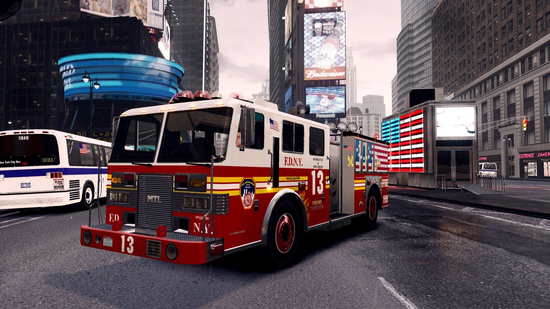 fire truck wallpaper 1920x1080