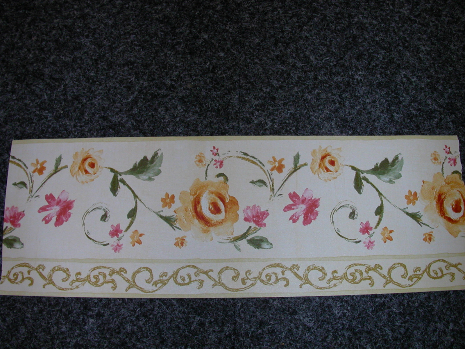 prepasted vinyl wall border Border is dry strippable and washable 1600x1200