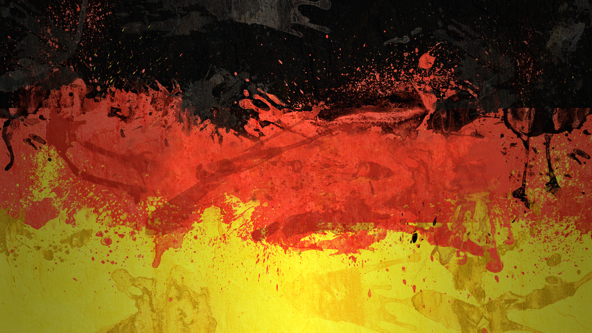 Germany Flag Art Desktop Wallpaper and make this wallpaper for your 1920x1080