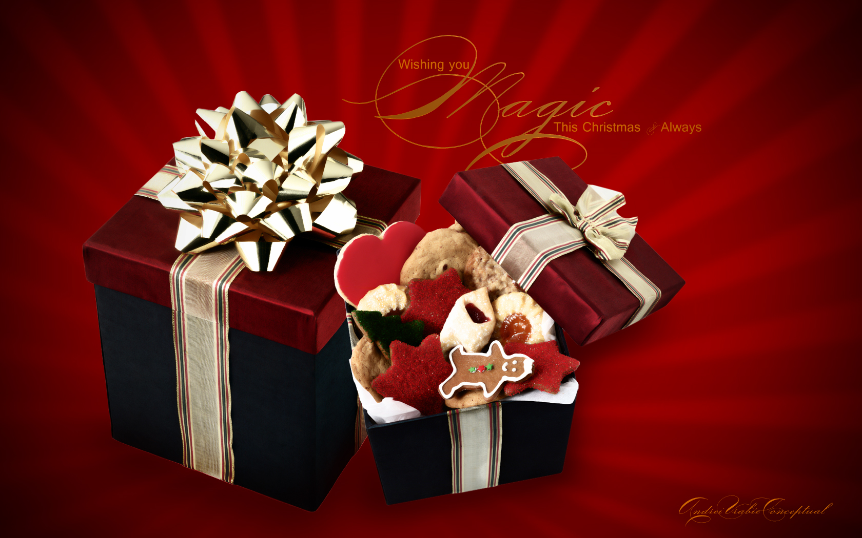 Christmas   Gifts Wallpaper   Christian Wallpapers and Backgrounds 1680x1050