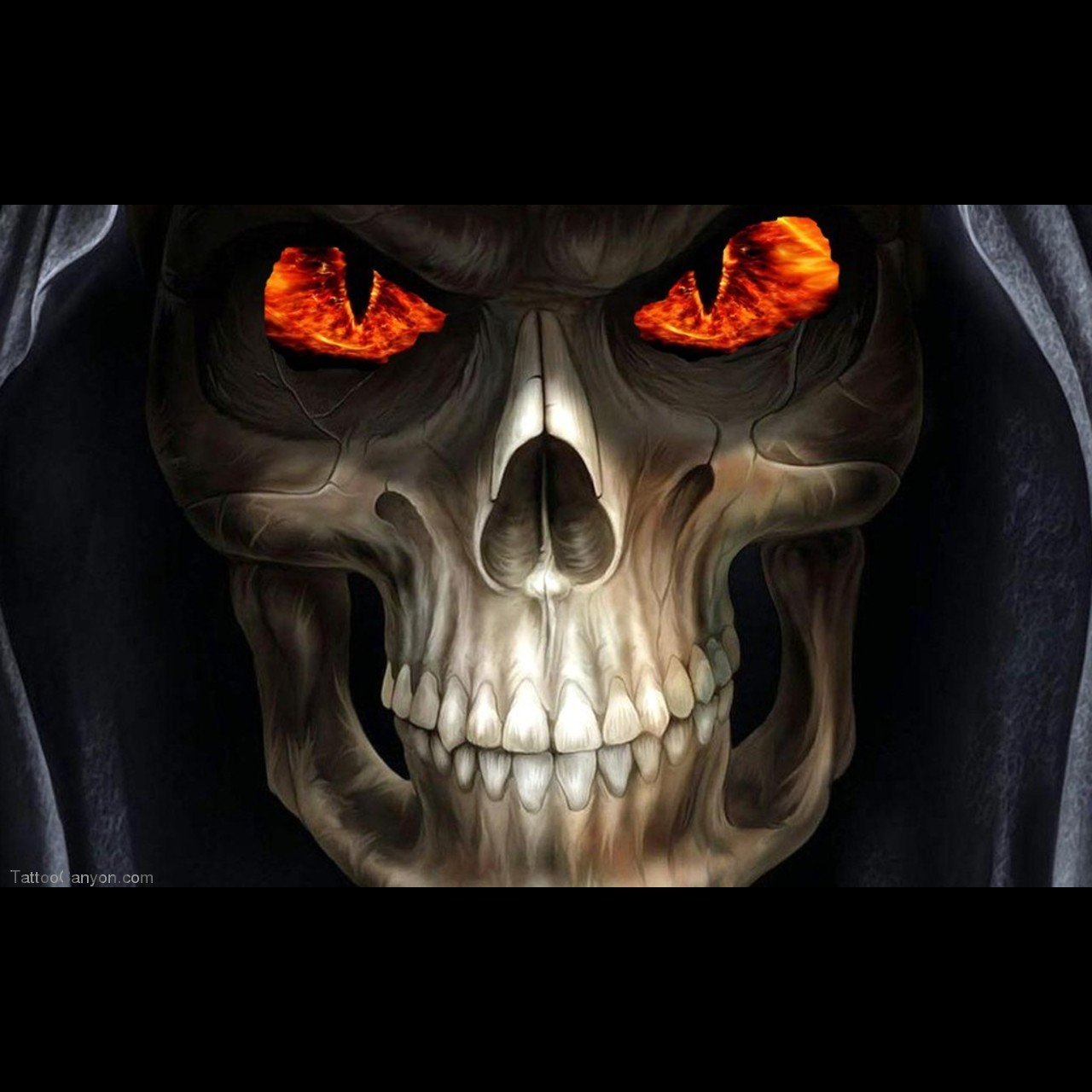 Grim Reaper Horror Skull Wallpaper Download Tattoo 32843 Picture 1280x1280