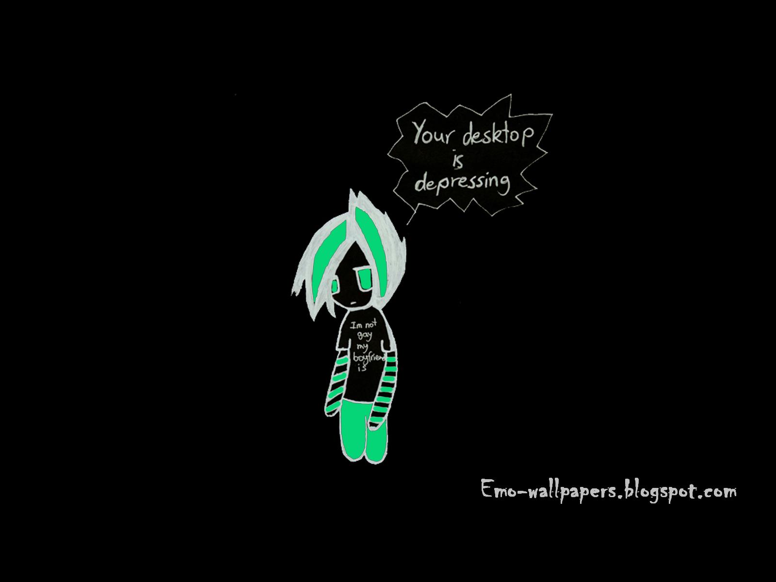 Emo Wallpapers For Facebook Emo wallpapers 1600x1200
