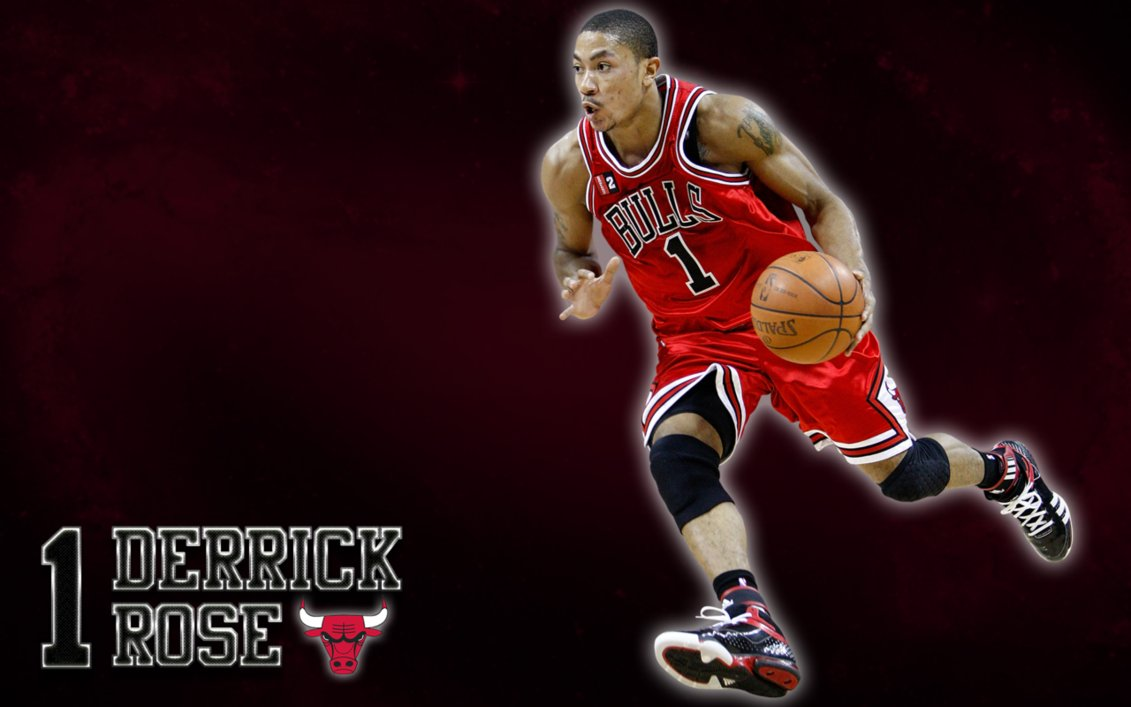 Derrick Rose Chicago Bulls Wallpaper by JaidynM 1131x707