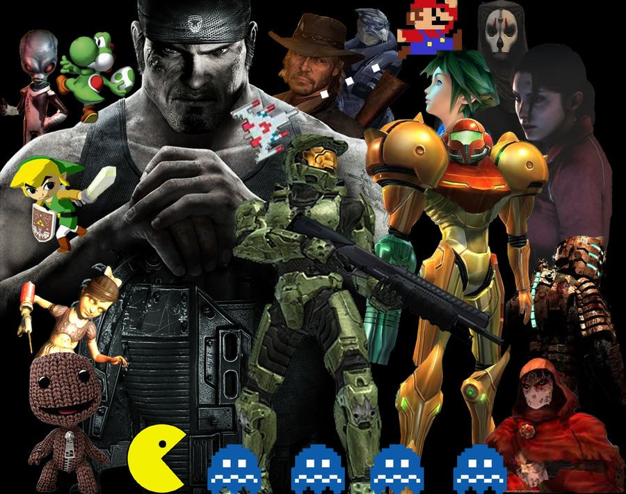 Video Game Characters Wallpaper Video game characters 900x711