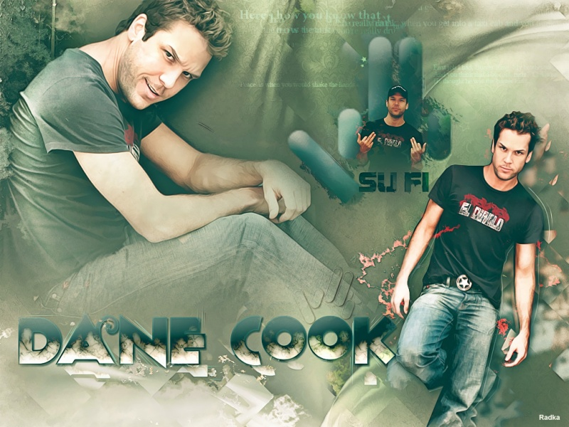 Dane Cook wall People 800x600