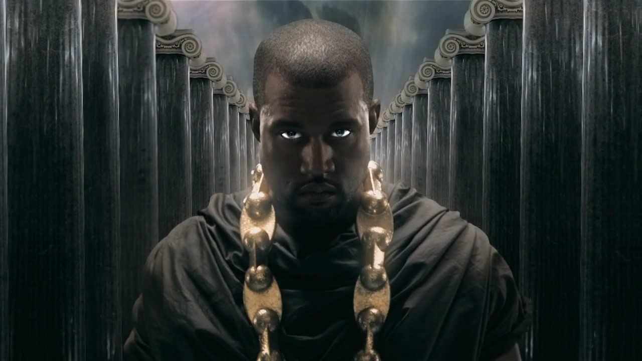 Wallpaper 1280x720 Power Heaven Artwork Snapshot Kanye West 1280x720