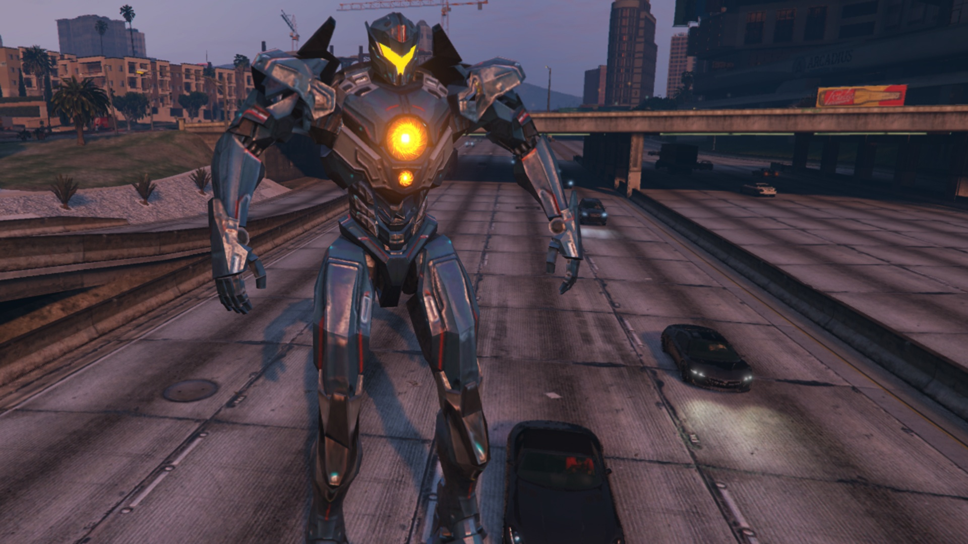 Gipsy Avenger Pacific Rim Uprising [Add on Ped]   GTA5 Modscom 1920x1080