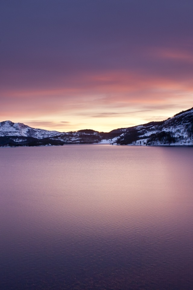 Norwegian Sunrise iPhone HD Wallpaper iPhone HD Wallpaper download 640x960