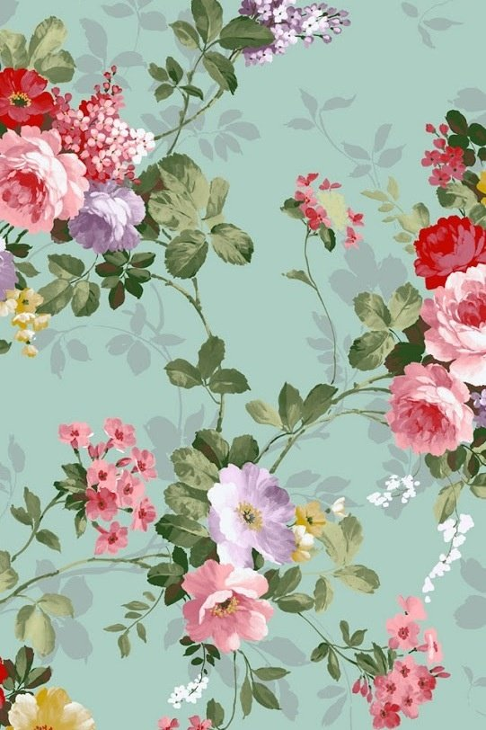 Free Download Floral Iphone Wallpaper Prints Patterns Pinterest