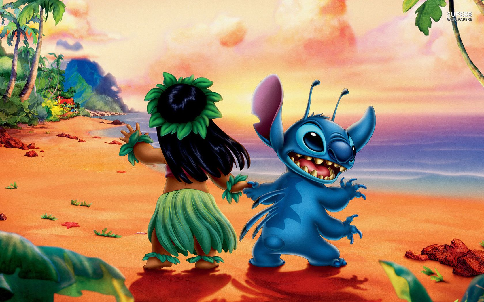 Lilo And Stich Wallpapers 1680x1050