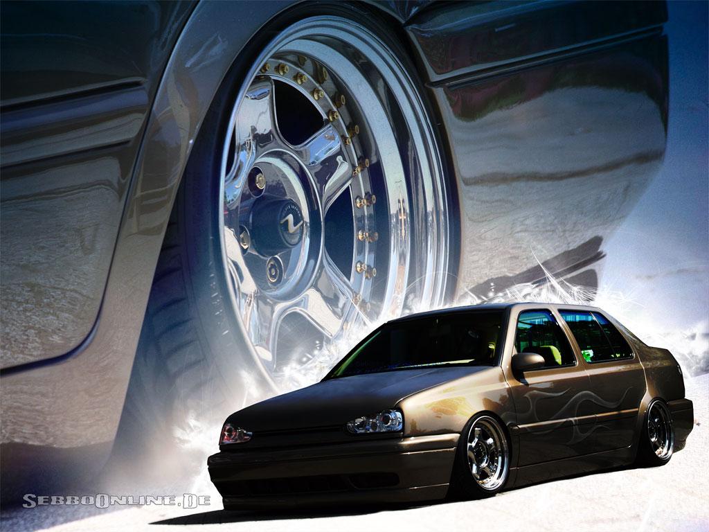 Volkswagen VW Tuning Wallpaper Desktop Hintergrundbilder Customs Fakes 1024x768