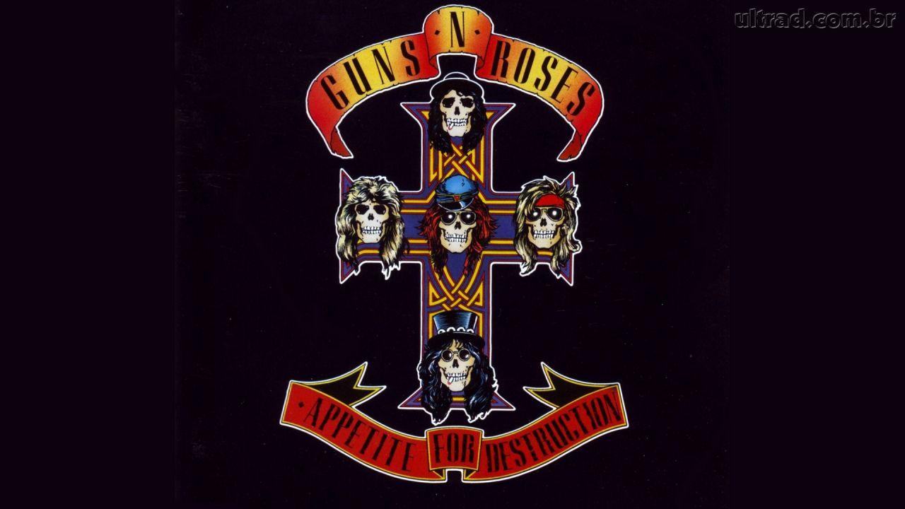 Papel de Parede Guns N Roses   Appetite for Destruction 1280x720