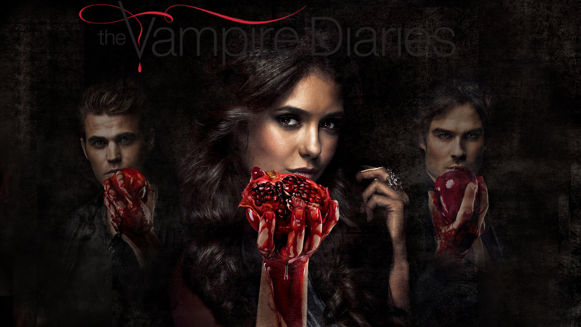 Wallpaper The Vampire Diaries: The Vampire Diaries 3 Wallpaper