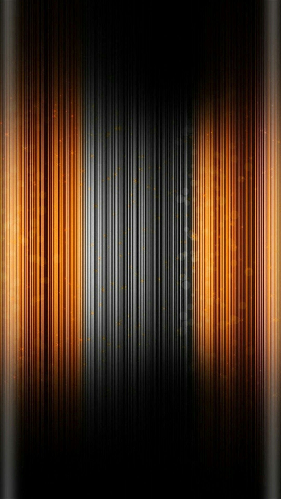 Orange and Black Gradient Wallpaper Abstract and Geometric 1080x1920