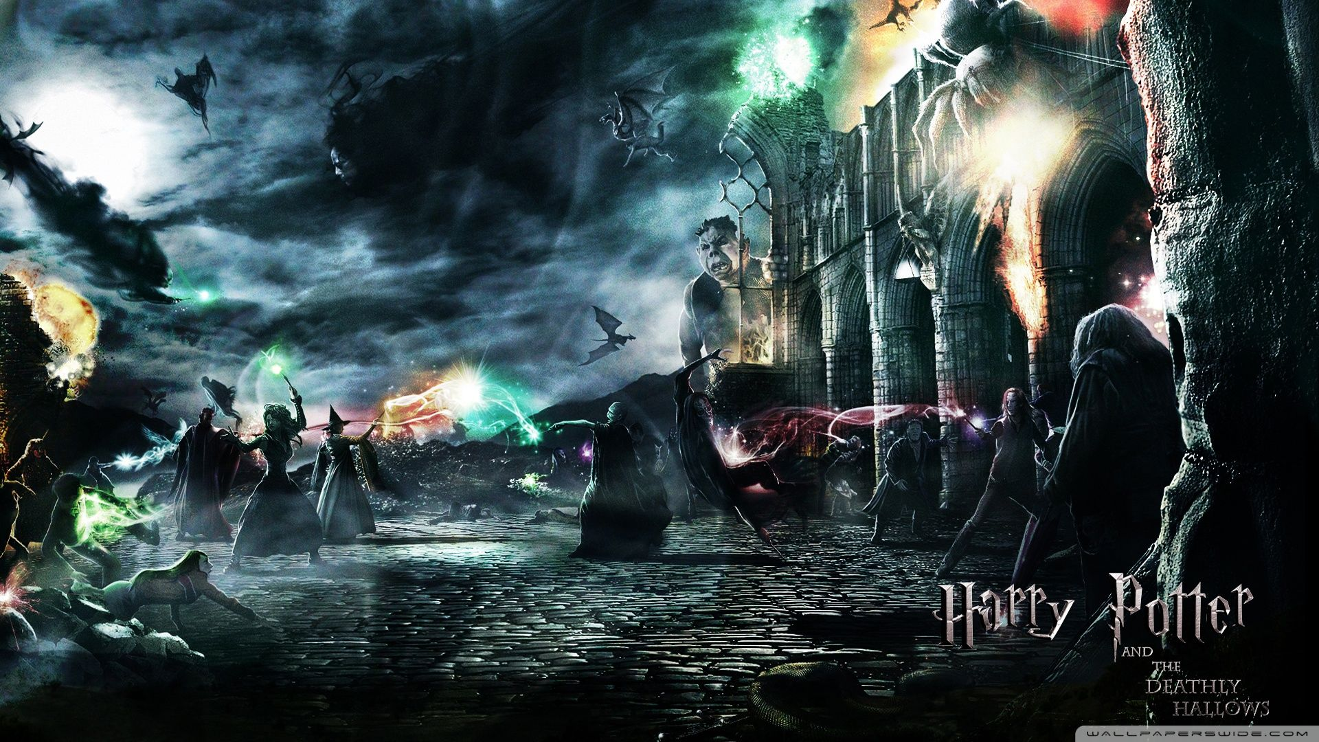 16 9 HD Harry Potter Wallpapers   Top 16 9 HD Harry Potter 1920x1080