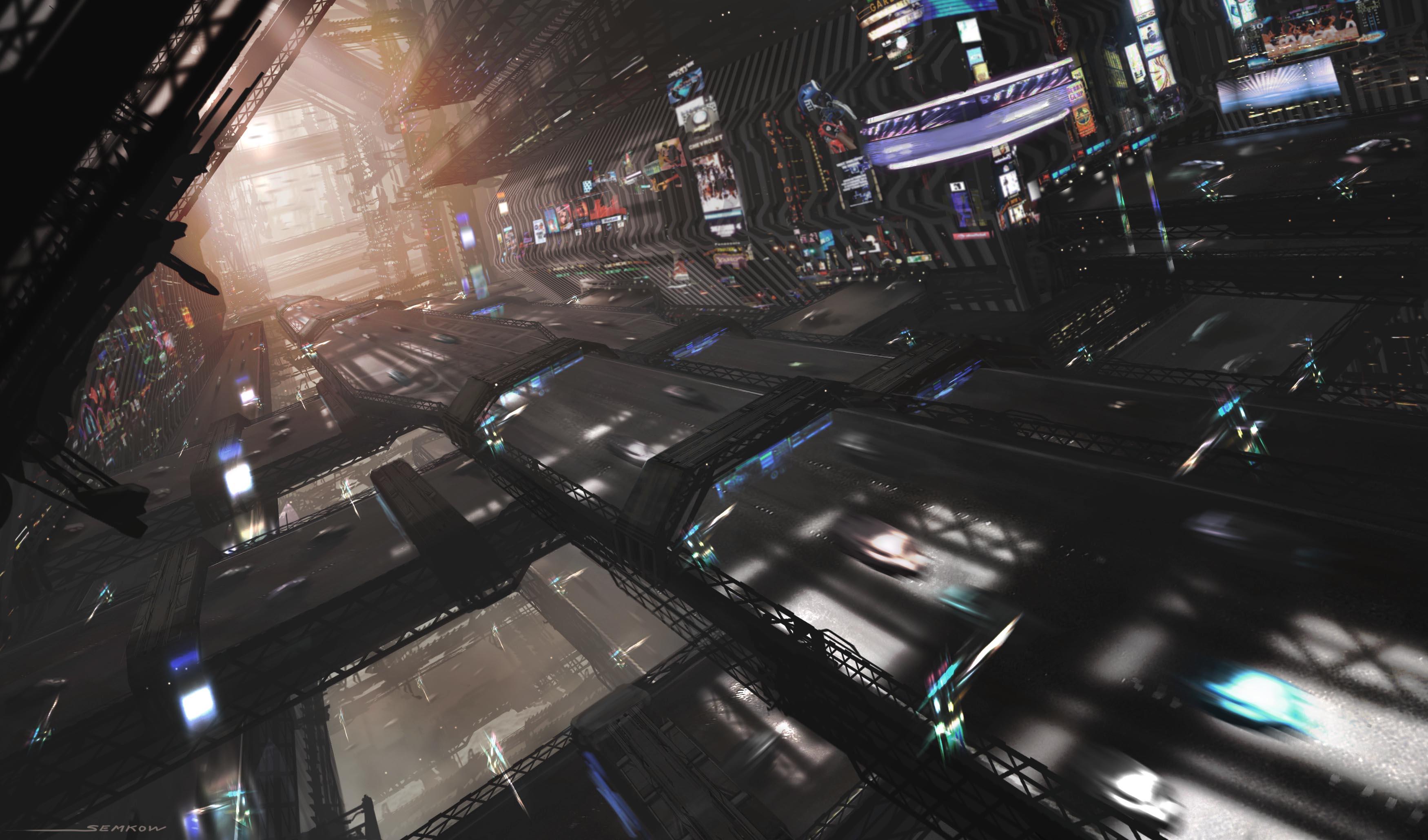 Cyberpunk HD Wallpapers Backgrounds 3500x2060