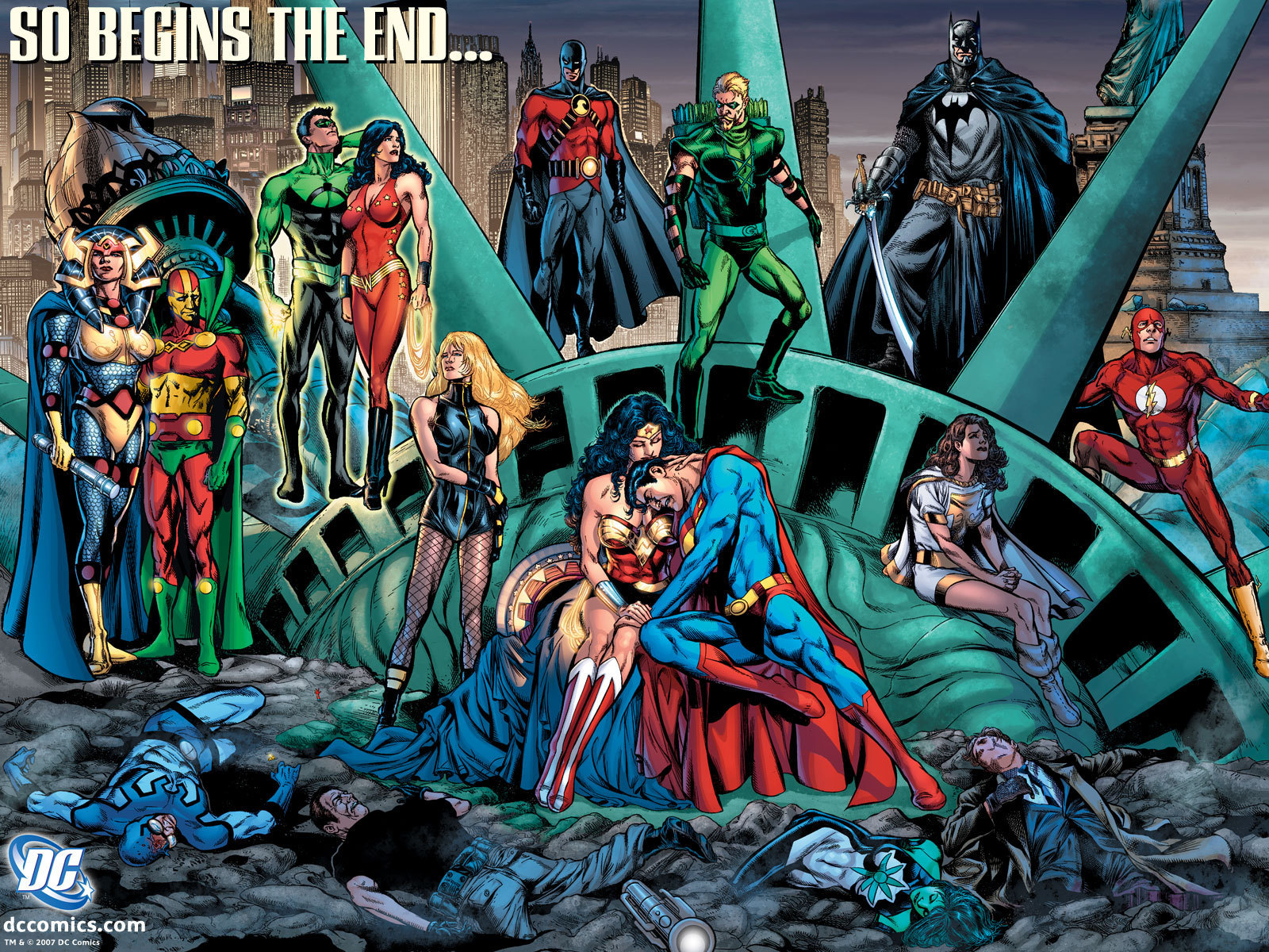 So Begins The End   DC Comics Wallpaper 4206733 1600x1200