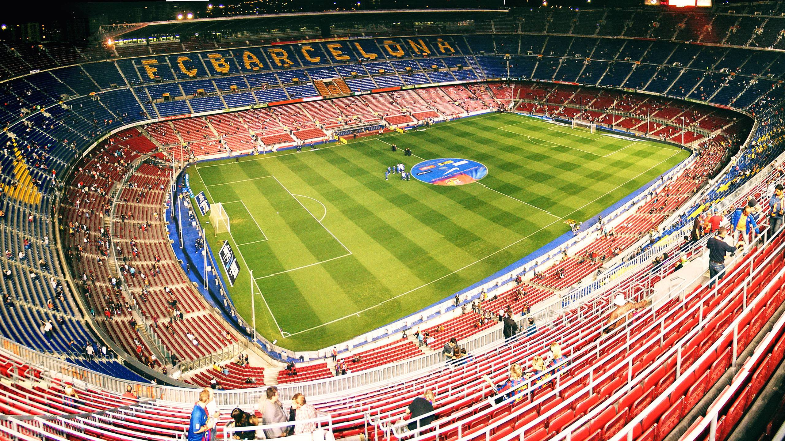 Camp Nou Wallpaper Download 2560x1440