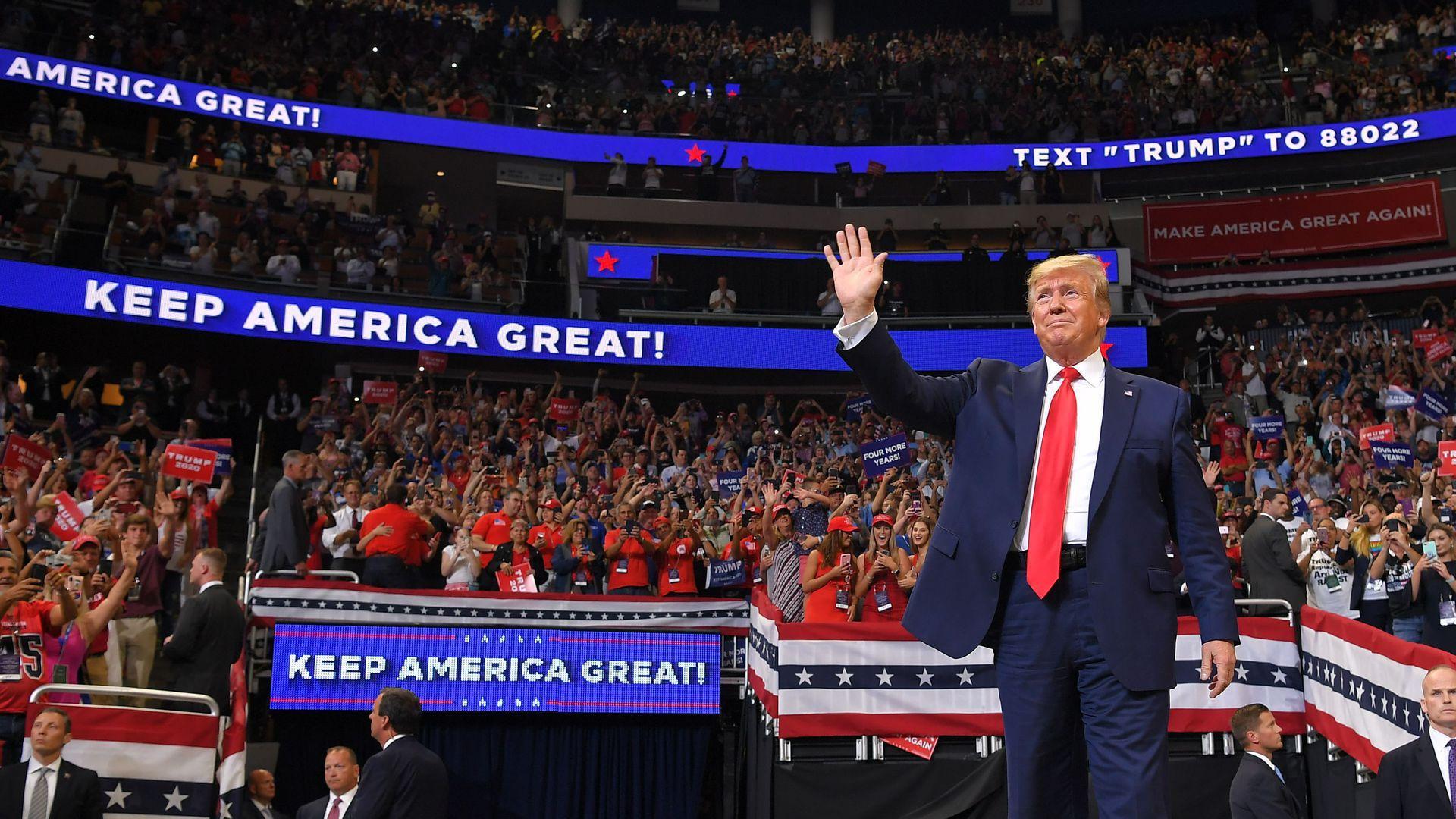Trump 2020 Desktop Wallpapers 1920x1080