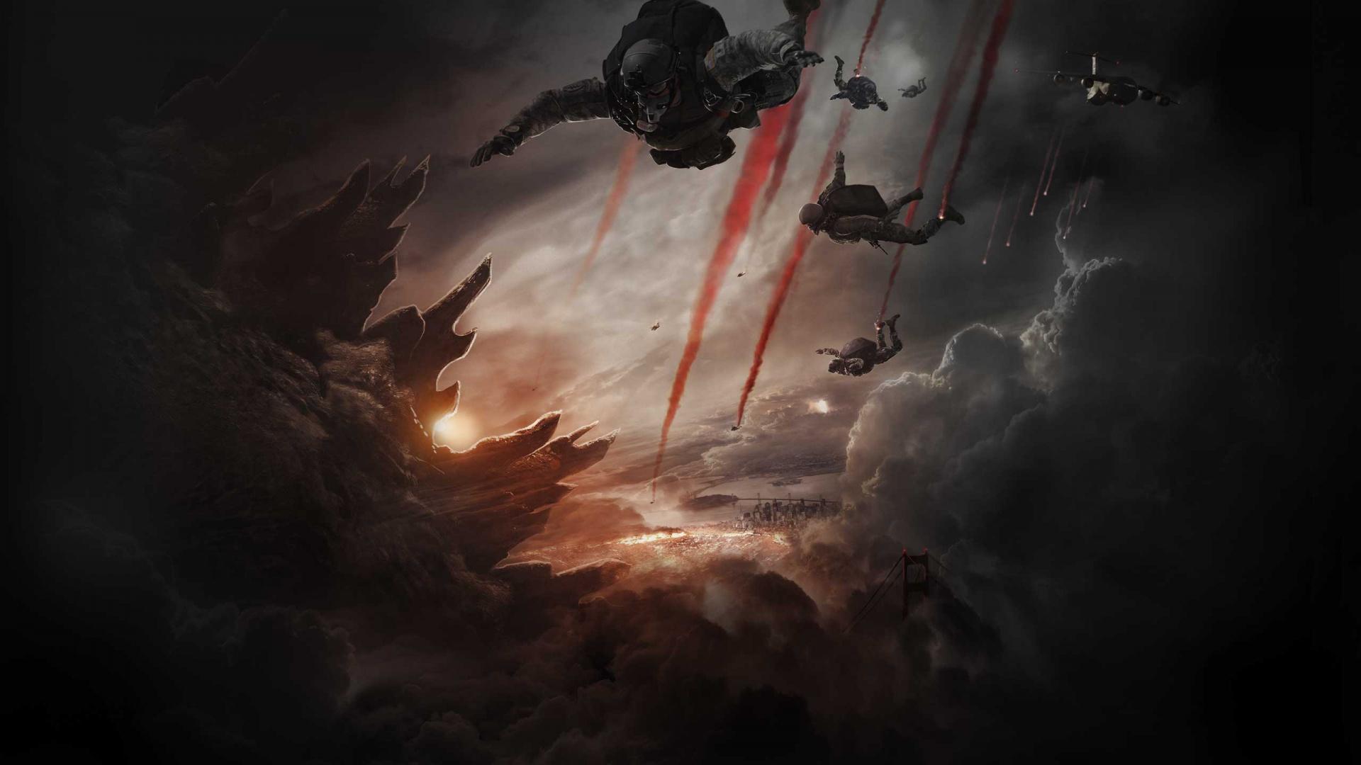 Godzilla 2014 Movie Wallpapers HD Wallpapers 1920x1080