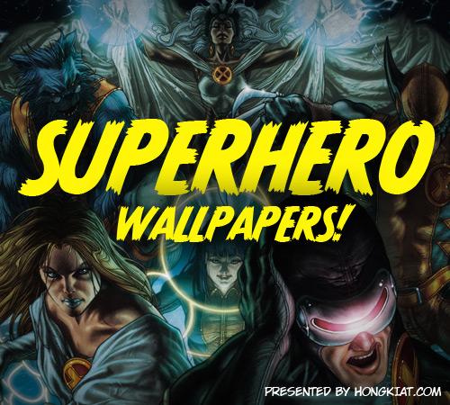 60 Marvelous Superhero Wallpapers Web Burning Blog 500x450