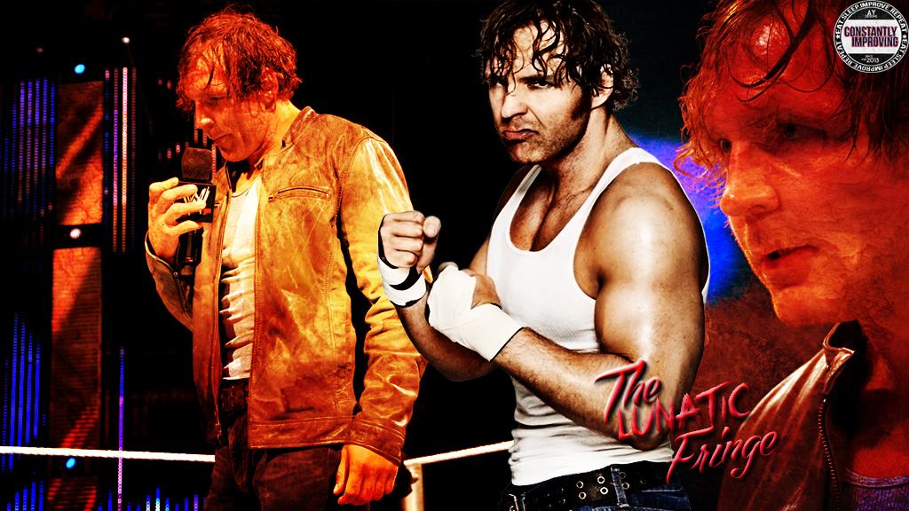 Dean Ambrose Simple Wallpaper by AY by AyBenoit12 1024x576