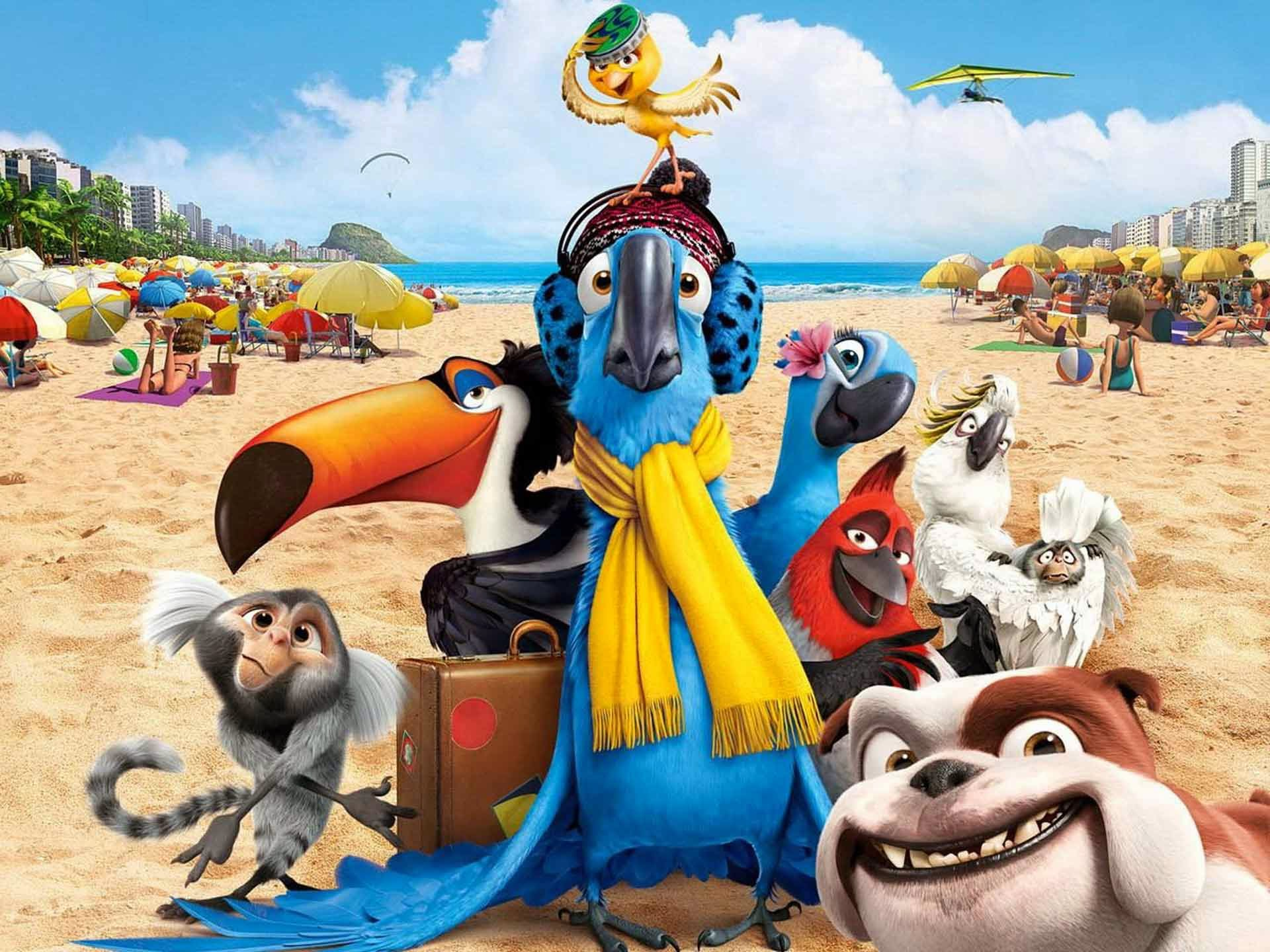 Rio 2 Funny Movie 2014 5k HD Wallpaper
