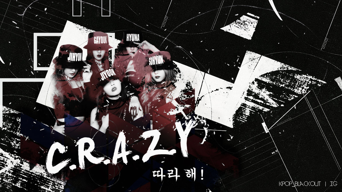 4minute CRAZY Wallpaper by kpopblackout 1191x670