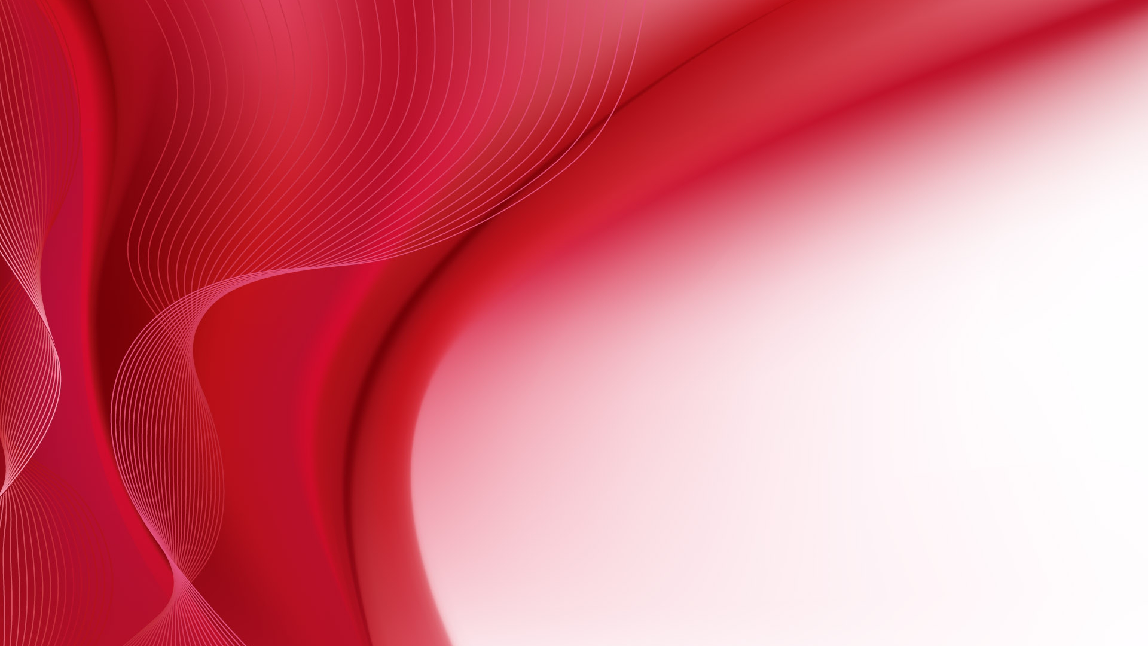 Red Wallpaper Background 3840x2160