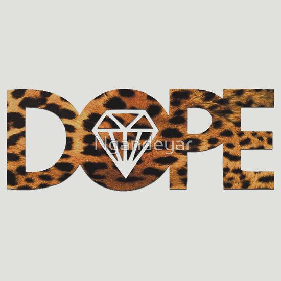 Dope Diamond Logo Dope diamond leopard by 550x550