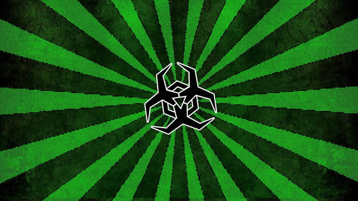 Biohazard Symbol Wallpaper by ImTabe 1191x670