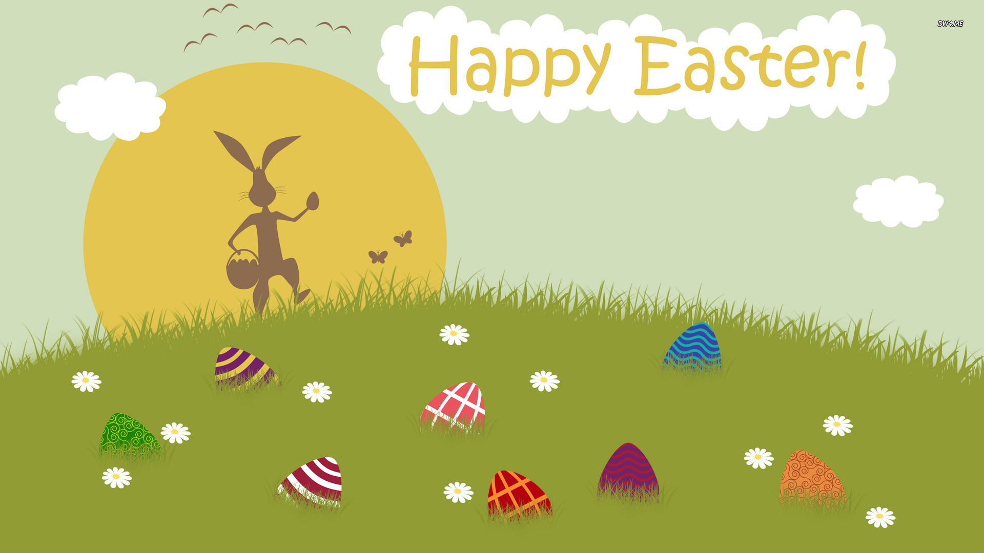 Happy Easter wallpaper   Holiday wallpapers   1274 1920x1080