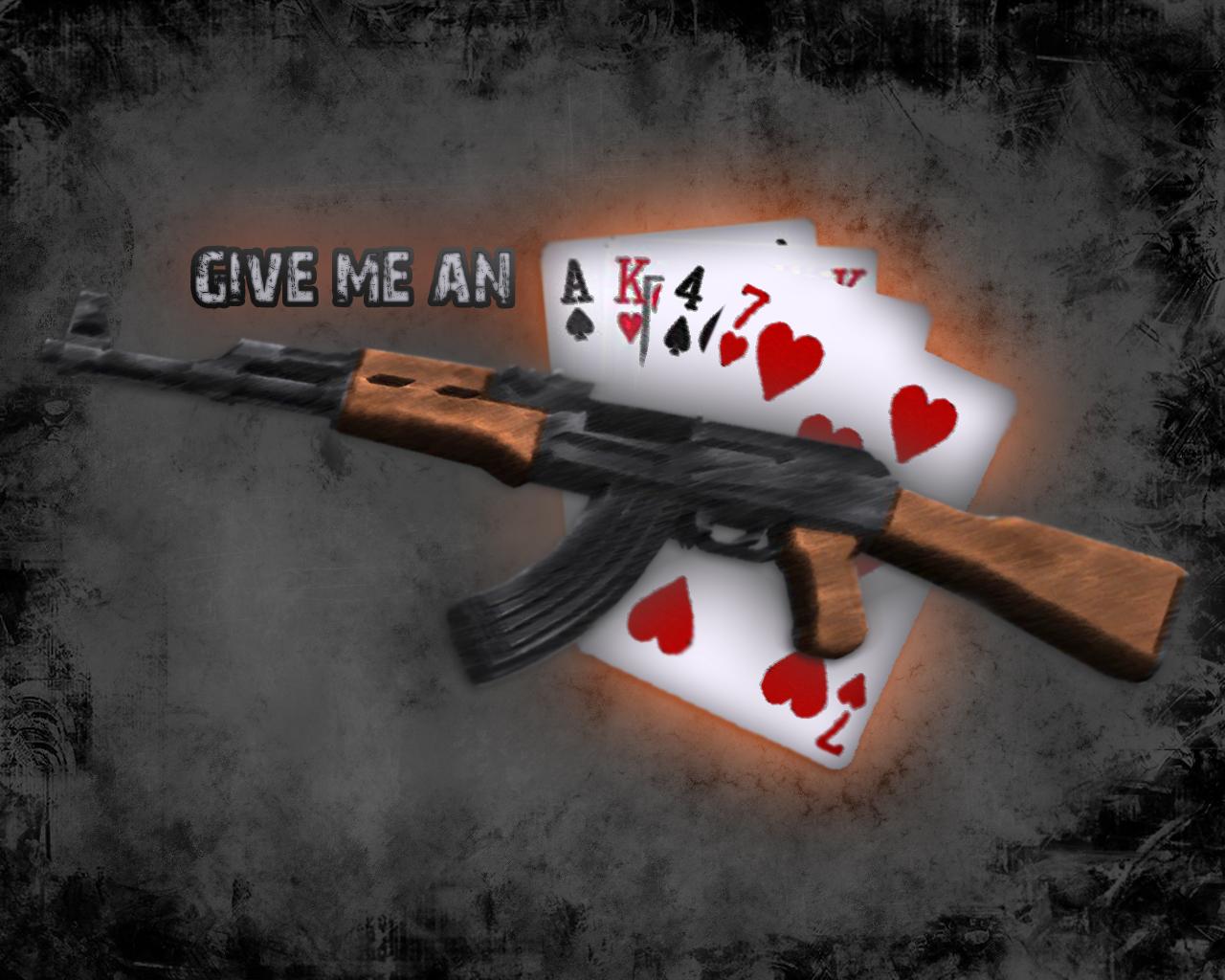 Give me an AK 47 by qman32 1280x1024