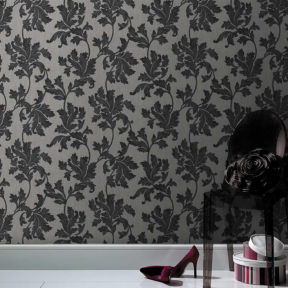 Graham Brown Acanthus Wallpaper Wallpaper House Garden 1000x1000