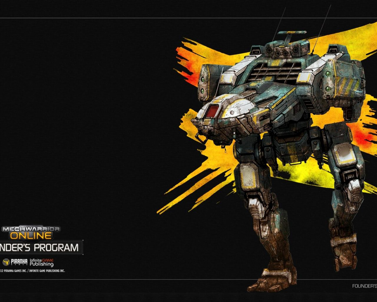 Mechwarrior online wallpaper 1920x1200 HQ WALLPAPER   35154 1280x1024