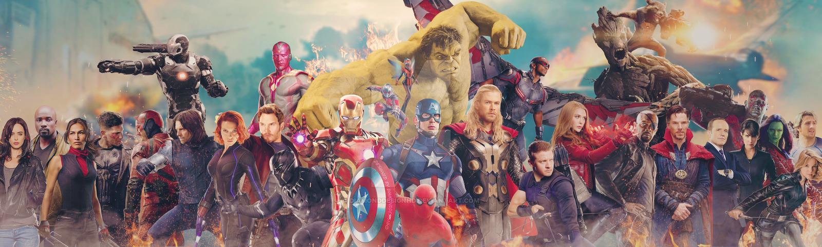 Marvel Cinematic Universe by DiamondDesignHD 1600x482