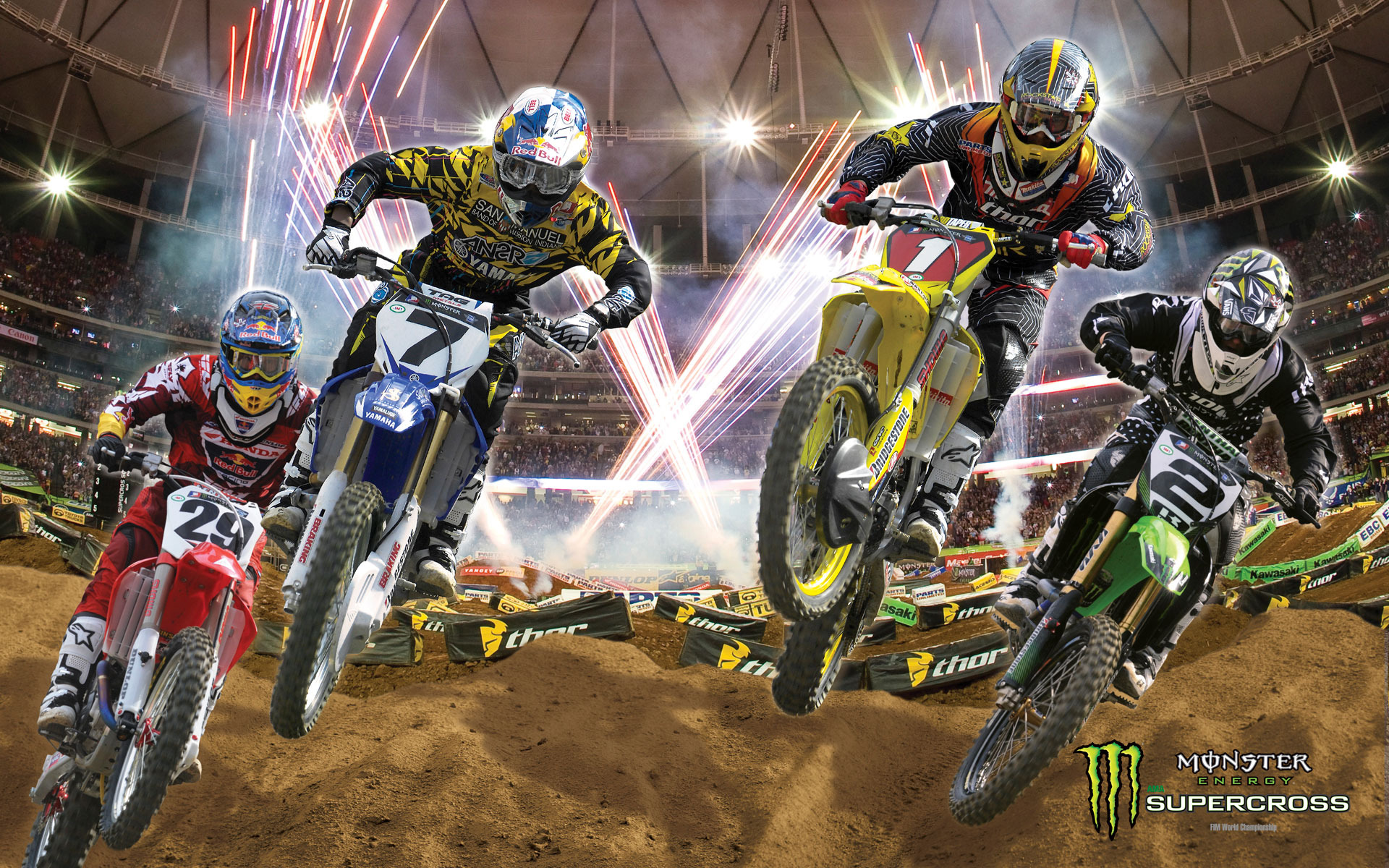 Ama Supercross Monster Energy Girls 1920x1200