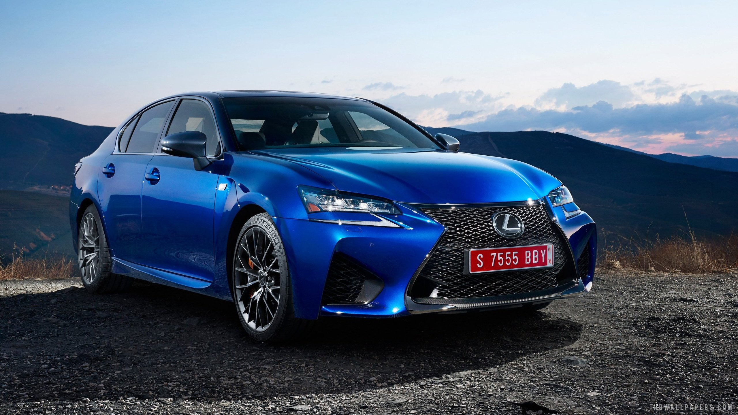 2016 Lexus GS F HD Wallpaper   iHD Wallpapers 2560x1440